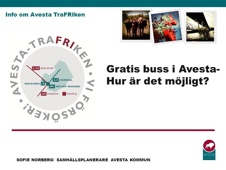 Gratis buss i Avesta- Hur är det möjligt