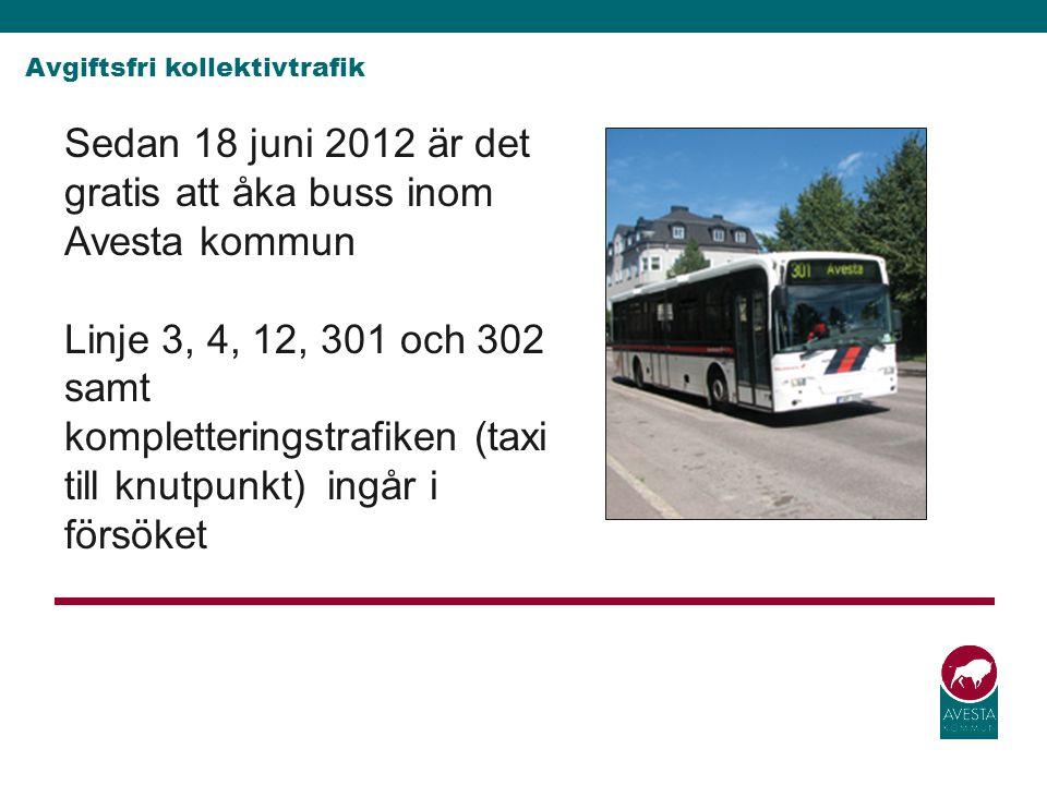 Avgiftsfri kollektivtrafik