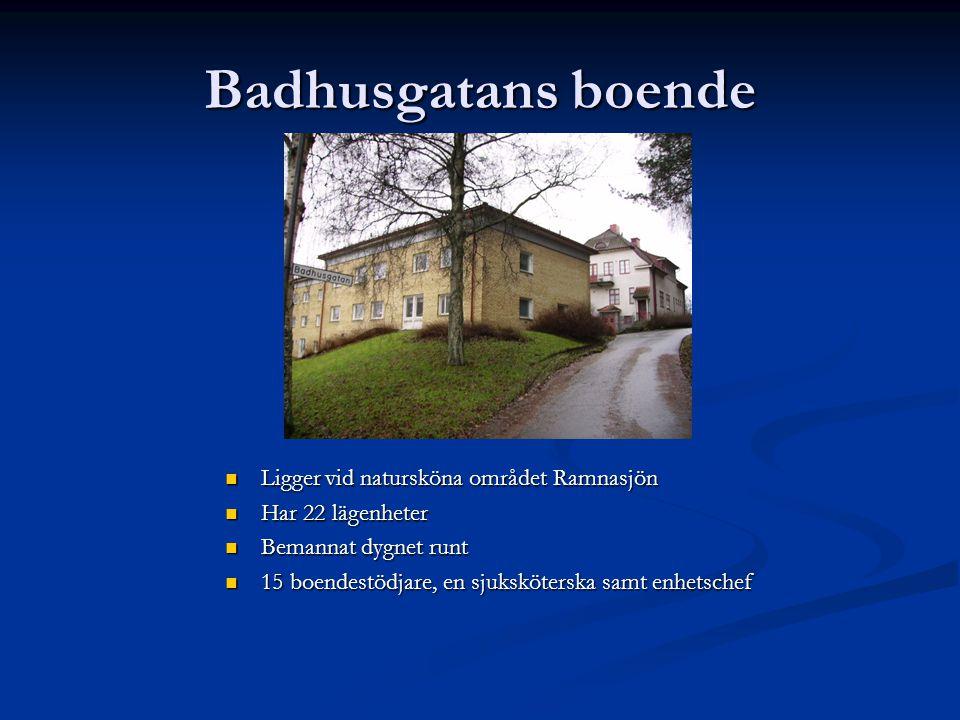 Badhusgatans boende Ligger vid natursköna området Ramnasjön