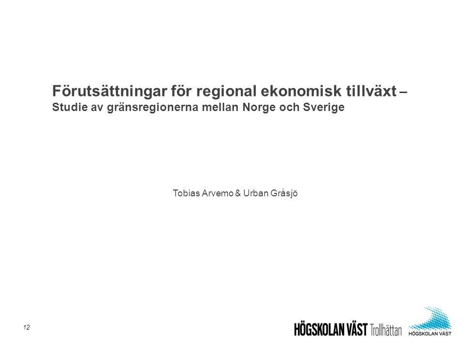 Tobias Arvemo & Urban Gråsjö