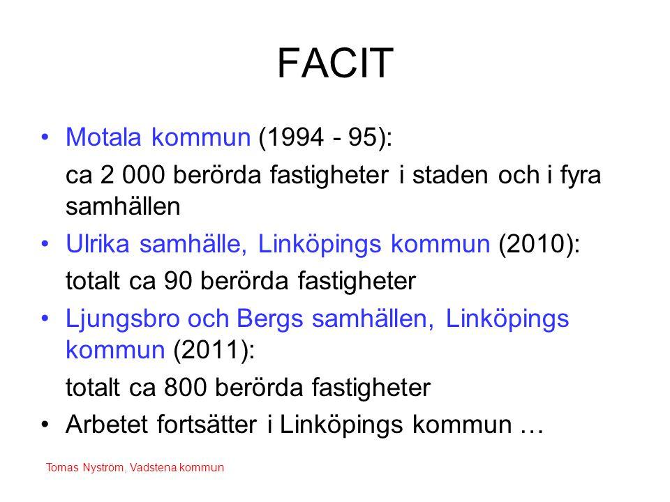 FACIT Motala kommun (1994 - 95):