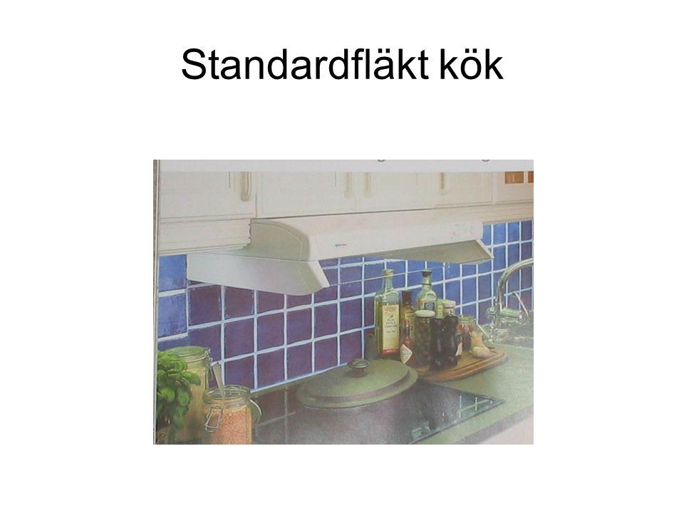 Standardfläkt kök