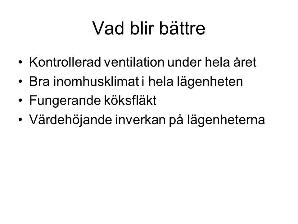 Vad blir bättre Kontrollerad ventilation under hela året