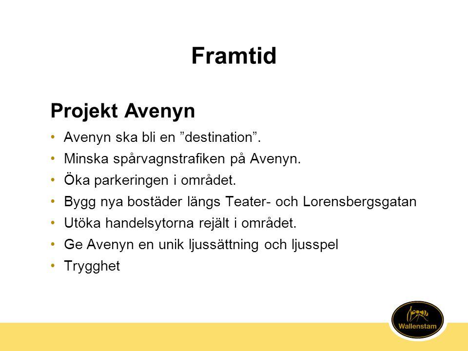 Framtid Projekt Avenyn Avenyn ska bli en destination .