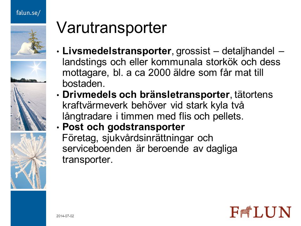 Varutransporter