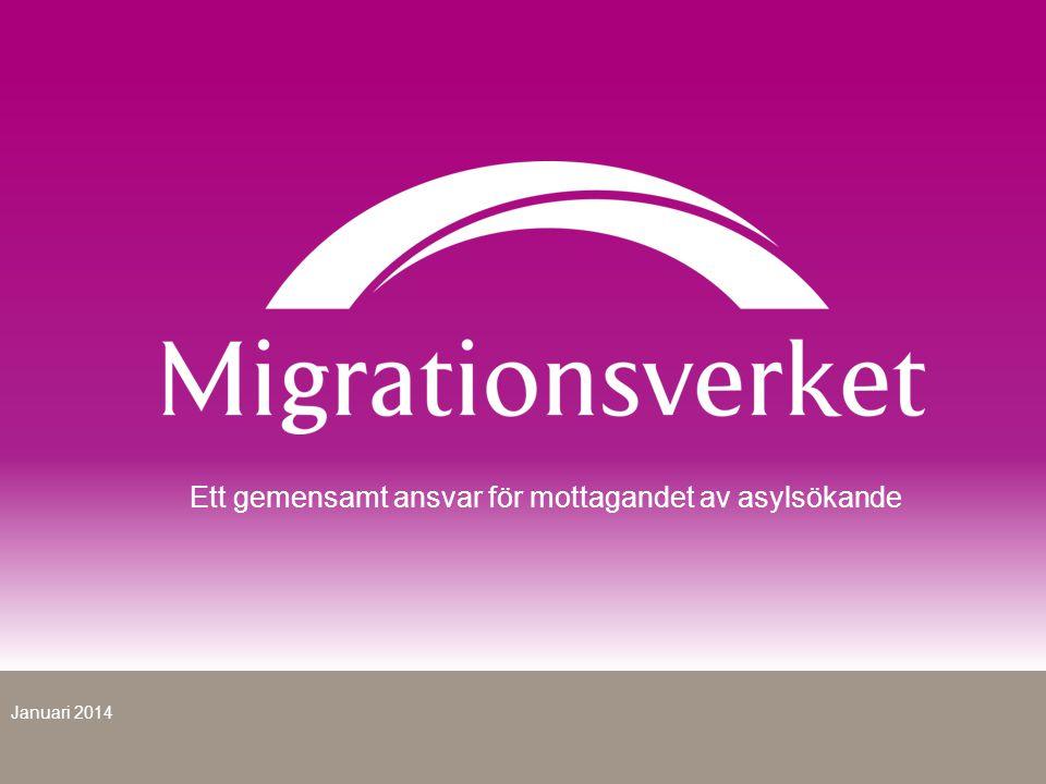 Ett gemensamt ansvar för mottagandet av asylsökande