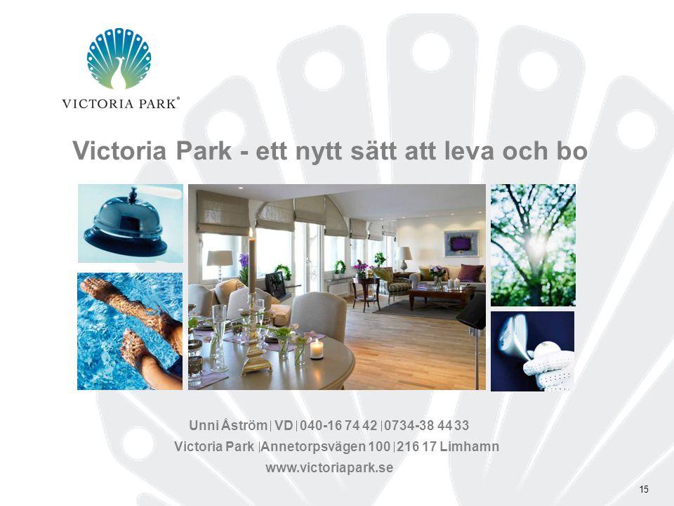 Victoria Park - ett nytt sätt att leva och bo