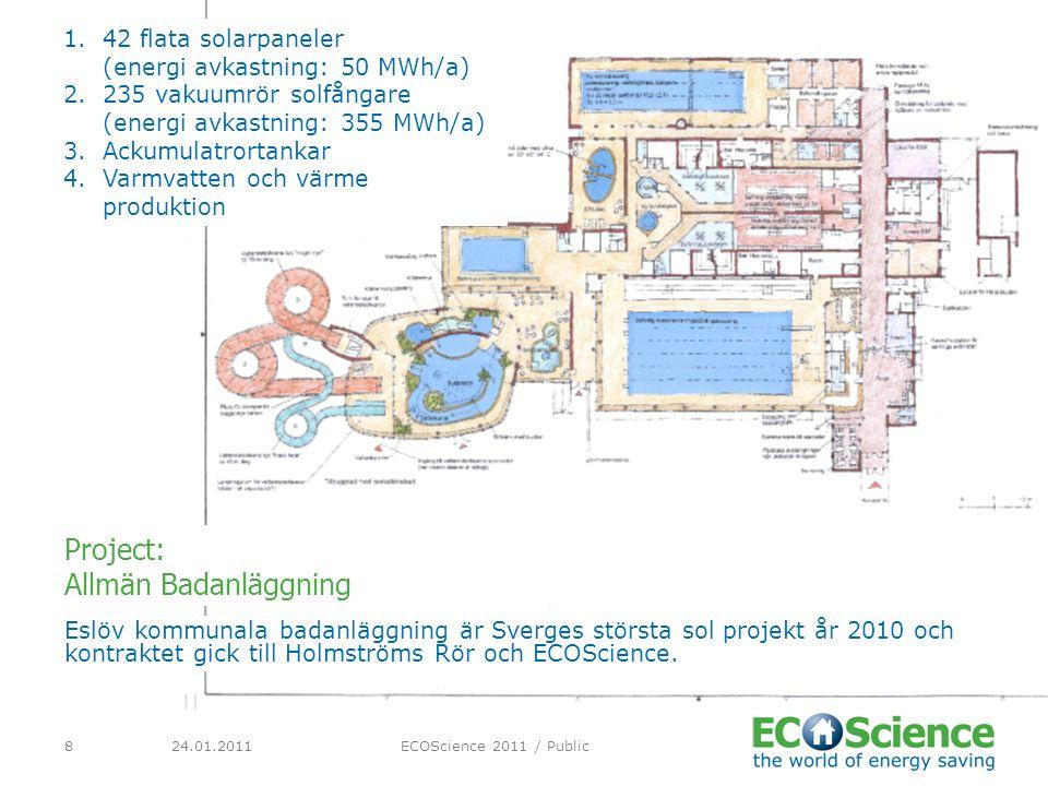 Project: Allmän Badanläggning