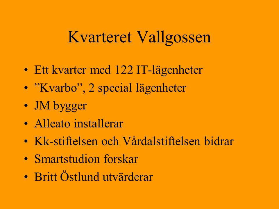 Kvarteret Vallgossen Ett kvarter med 122 IT-lägenheter
