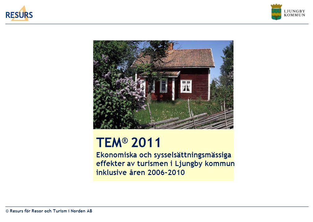 TEM® 2011 Ekonomiska och sysselsättningsmässiga
