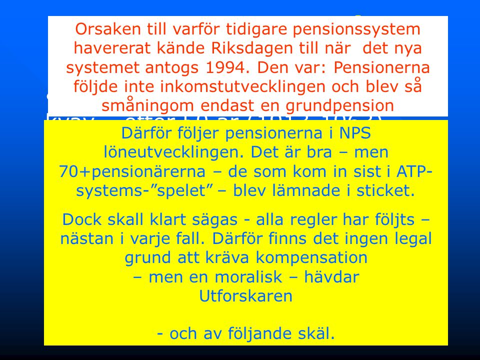 2. Kompensation för Inkomstklyftan