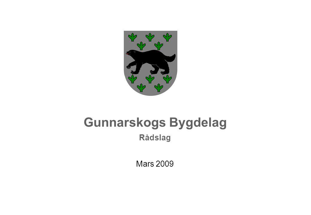 Gunnarskogs Bygdelag Rådslag