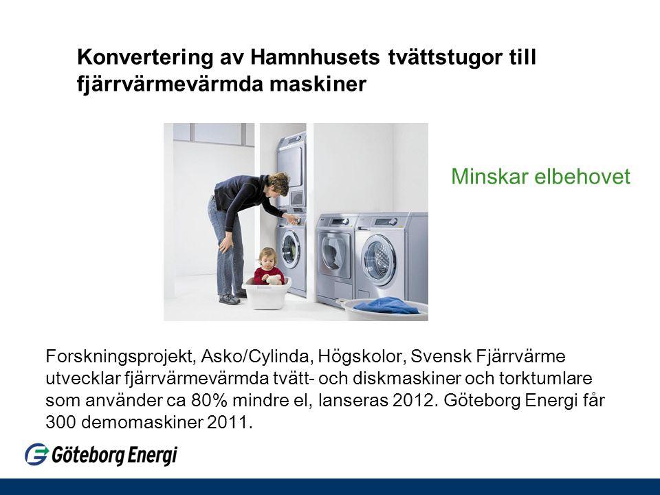 Konvertering av Hamnhusets tvättstugor till fjärrvärmevärmda maskiner