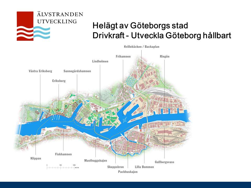 Helägt av Göteborgs stad Drivkraft - Utveckla Göteborg hållbart