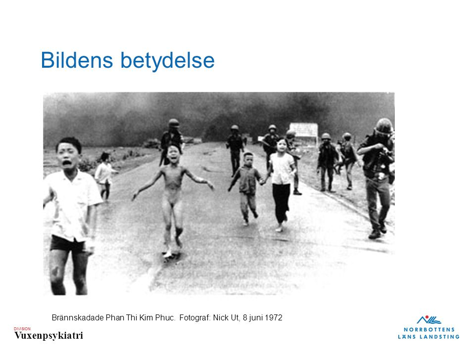 Bildens betydelse Brännskadade Phan Thi Kim Phuc. Fotograf: Nick Ut, 8 juni 1972
