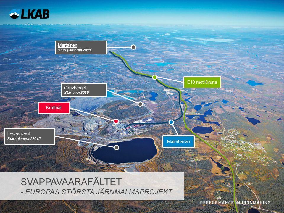 Svappavaarafältet - Europas största järnmalmsprojekt