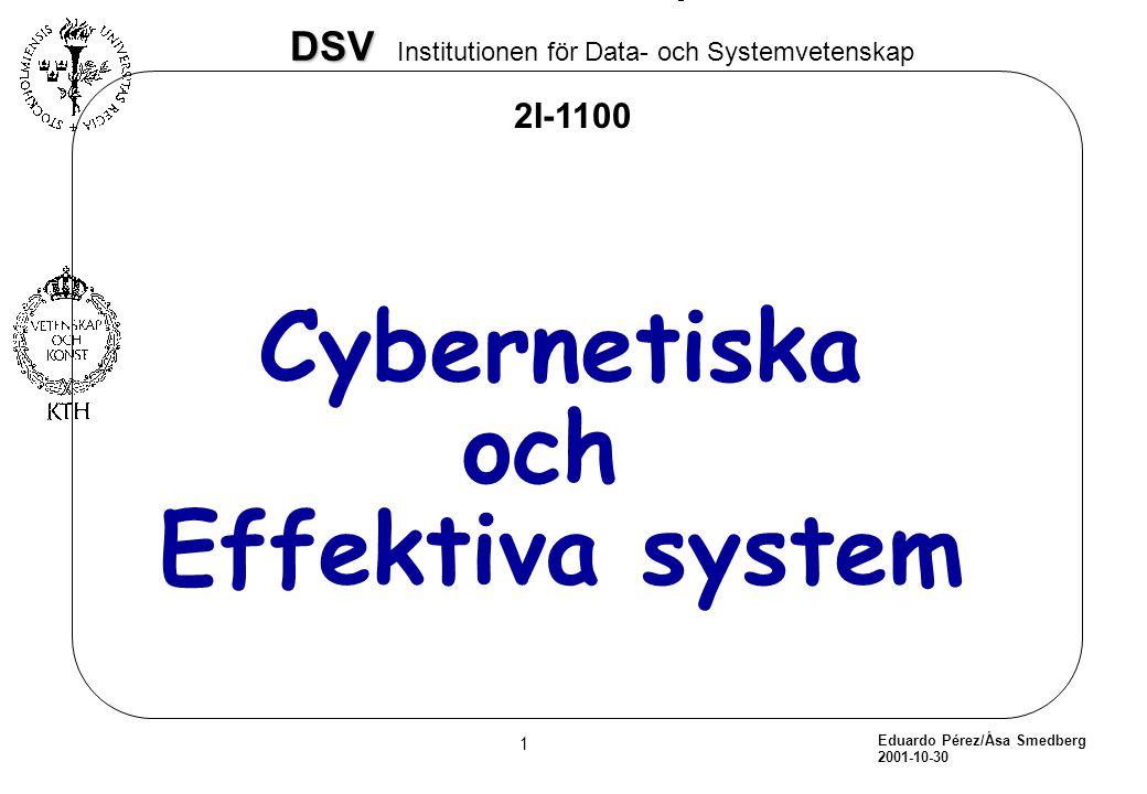 Cybernetiska och Effektiva system