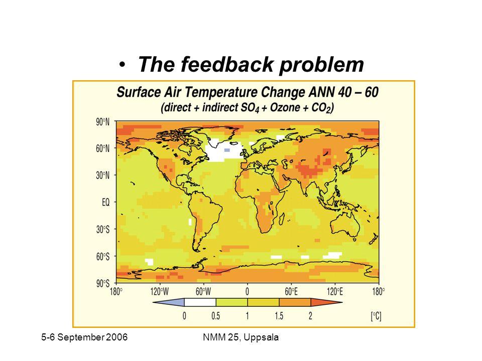 The feedback problem 5-6 September 2006 NMM 25, Uppsala