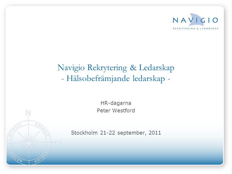 Navigio Rekrytering & Ledarskap - Hälsobefrämjande ledarskap -