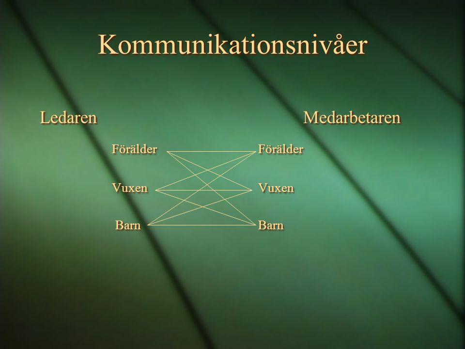 Kommunikationsnivåer
