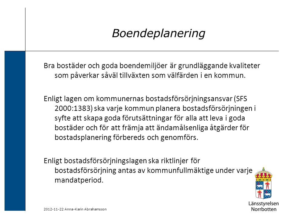 Boendeplanering