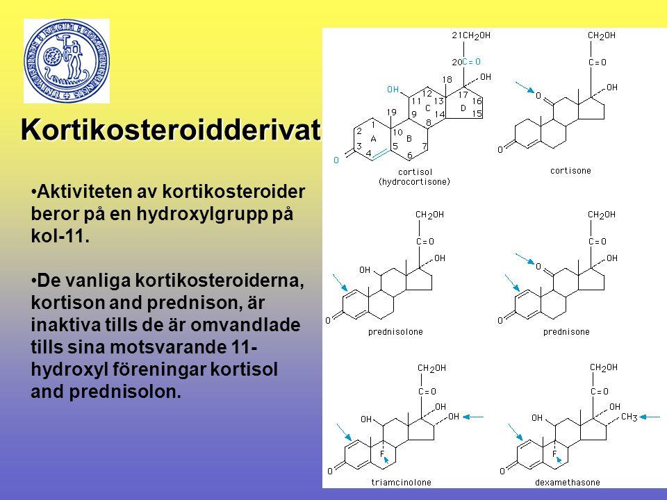 Kortikosteroidderivat