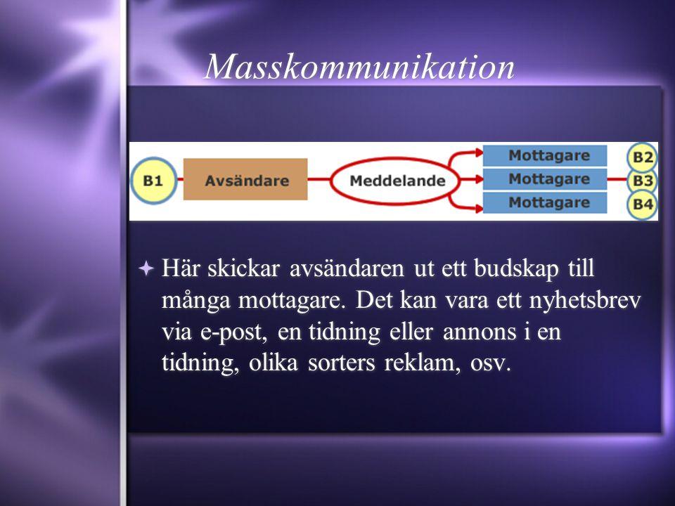 Masskommunikation