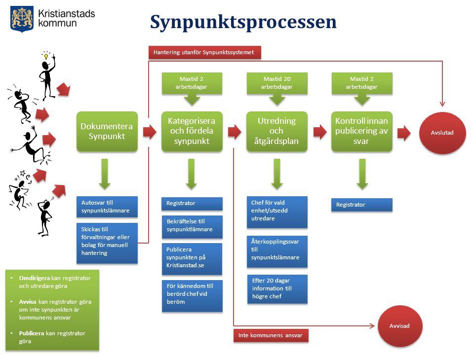 Synpunktsprocessen Dokumentera Synpunkt