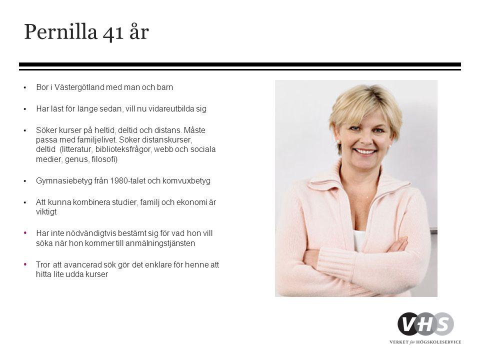 Pernilla 41 år Bor i Västergötland med man och barn
