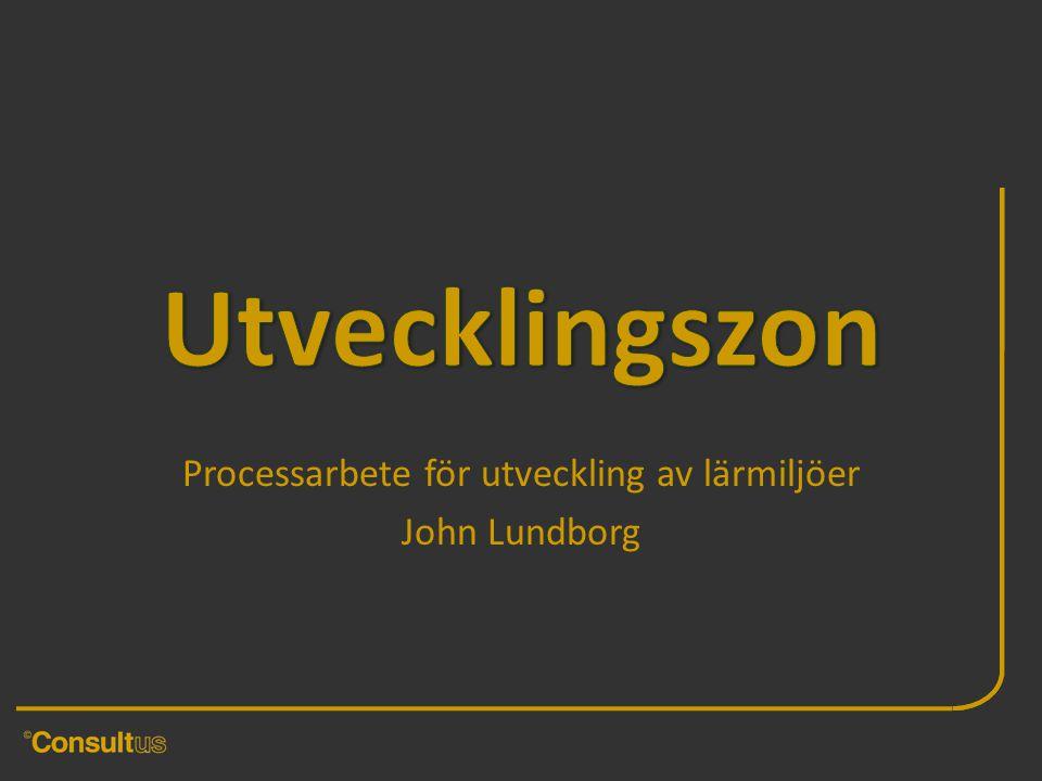 Processarbete för utveckling av lärmiljöer John Lundborg