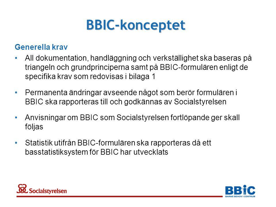 BBIC-konceptet Generella krav