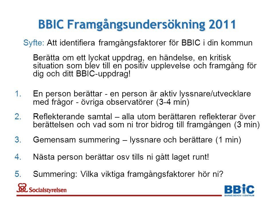 BBIC Framgångsundersökning 2011