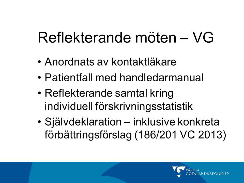 Reflekterande möten – VG