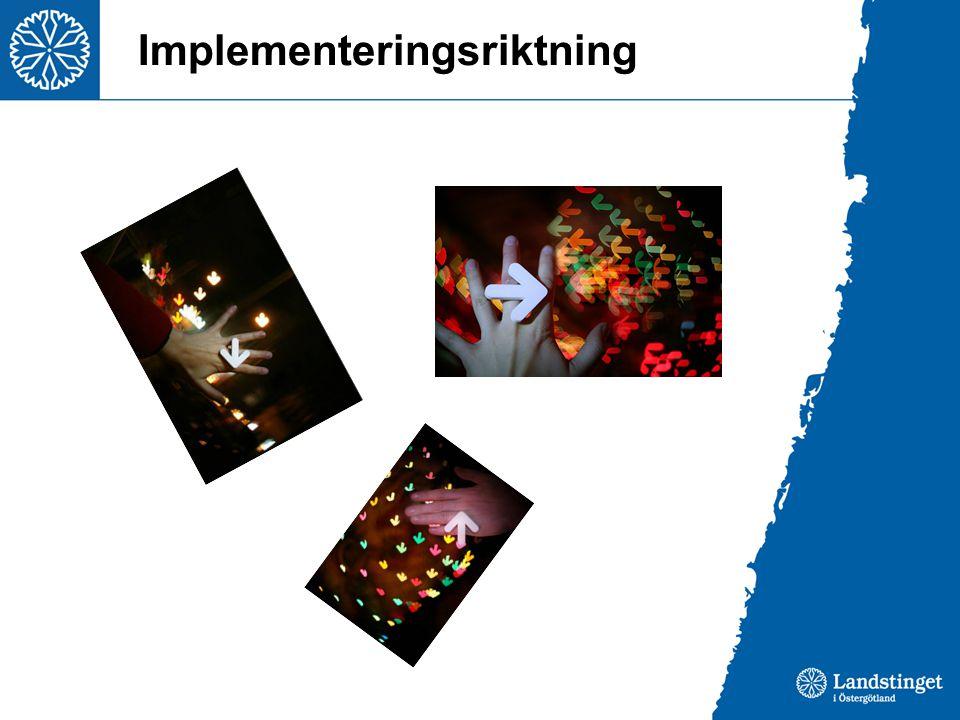 Implementeringsriktning
