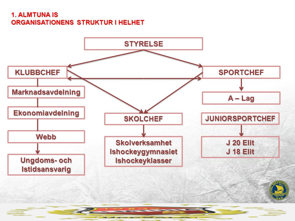 Skolverksamhet Ishockeygymnasiet Ishockeyklasser J 20 Elit J 18 Elit