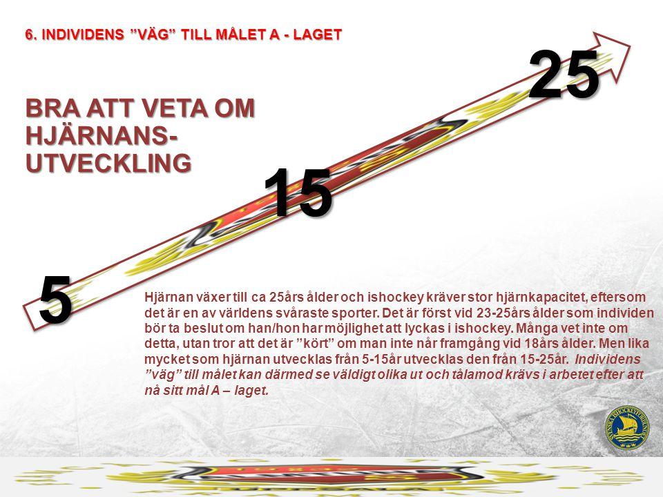 25 15 5 BRA ATT VETA OM HJÄRNANS- UTVECKLING