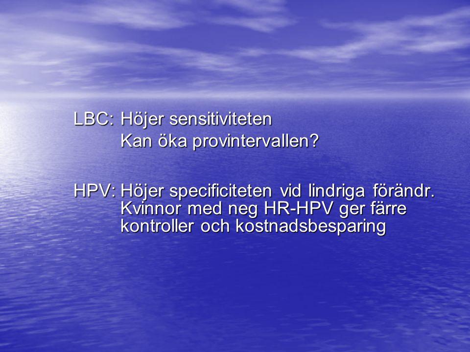 LBC: Höjer sensitiviteten