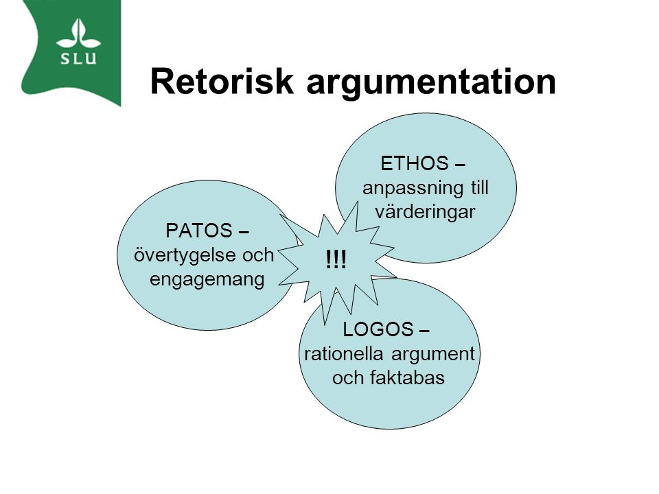 Retorisk argumentation