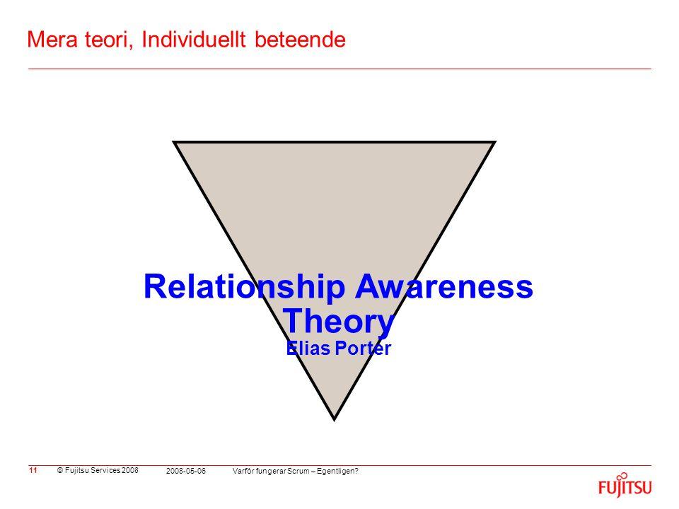 Mera teori, Individuellt beteende
