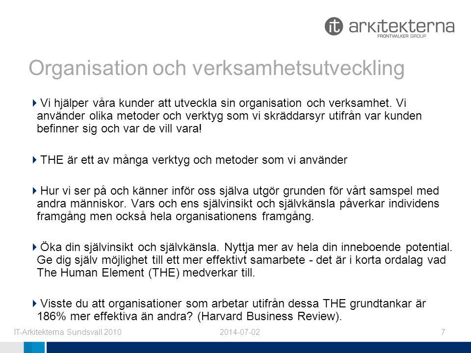 Organisation och verksamhetsutveckling