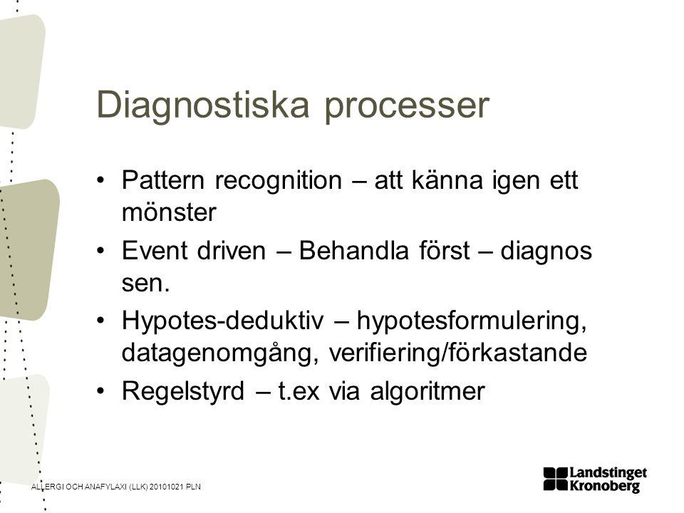 Diagnostiska processer