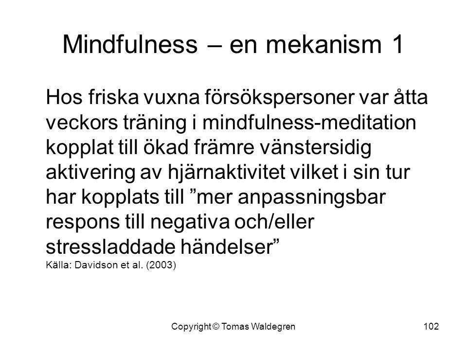 Mindfulness – en mekanism 1