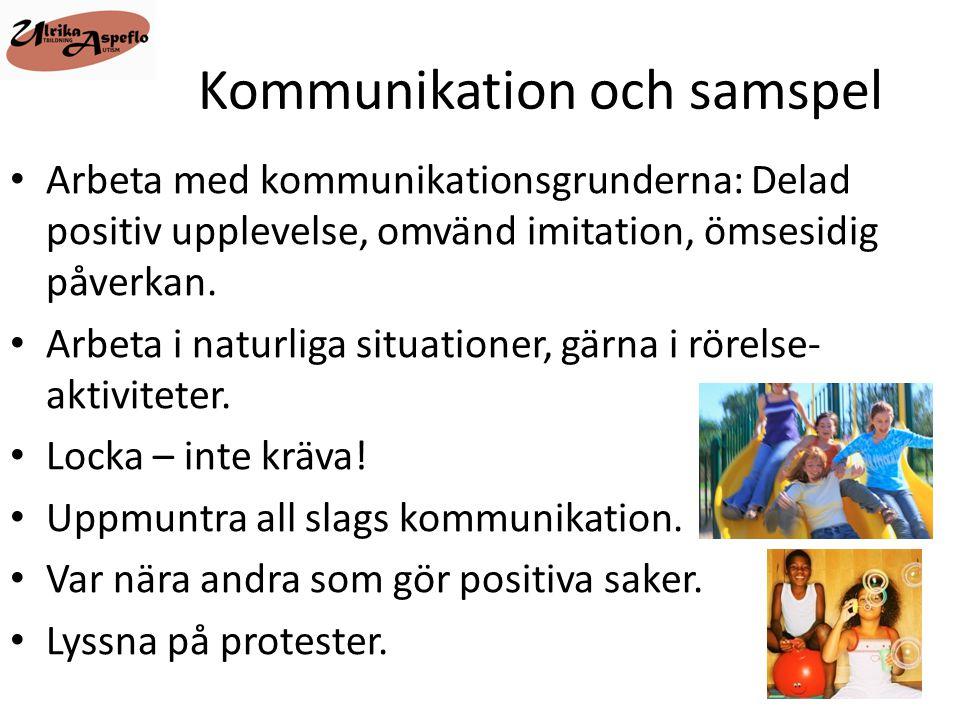 Kommunikation och samspel