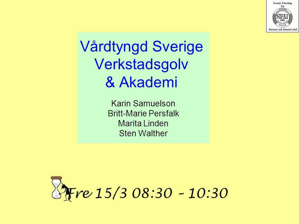 Vårdtyngd Sverige Verkstadsgolv & Akademi