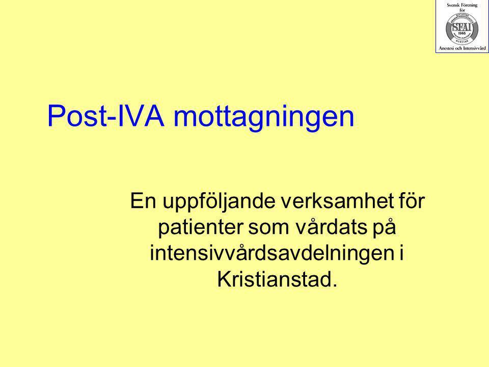 Post-IVA mottagningen