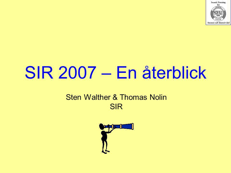 Sten Walther & Thomas Nolin SIR