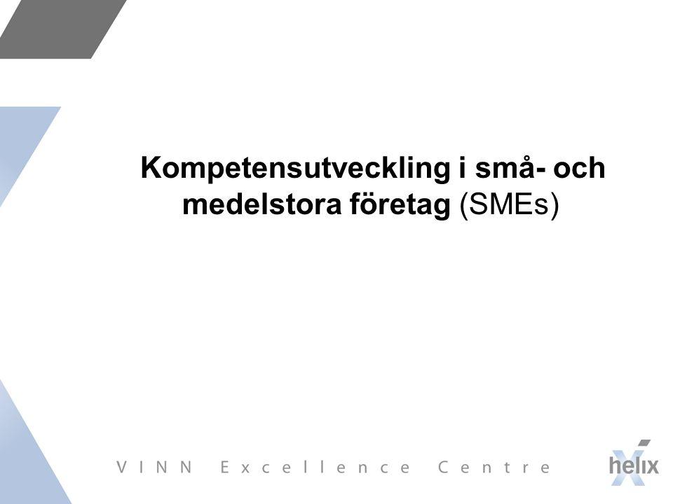 Kompetensutveckling i små- och medelstora företag (SMEs)