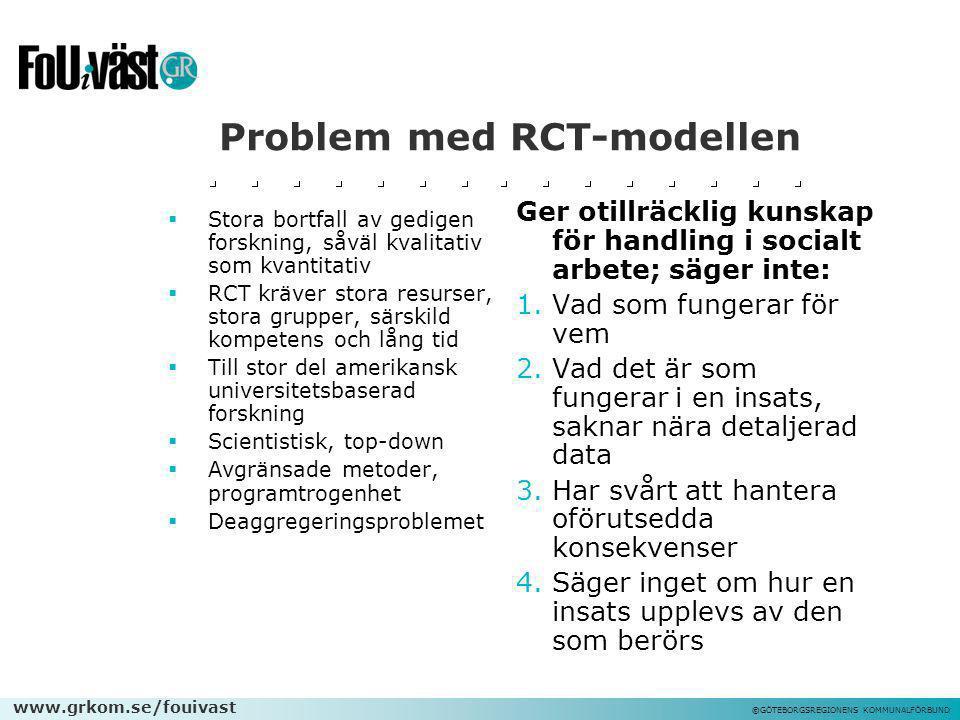 Problem med RCT-modellen