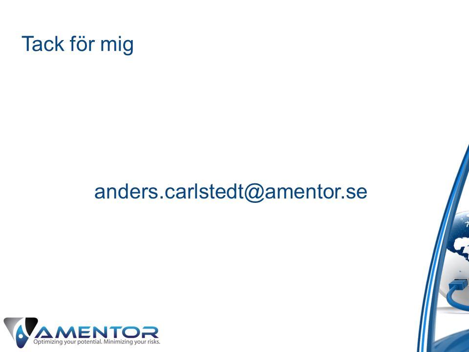 Tack för mig anders.carlstedt@amentor.se