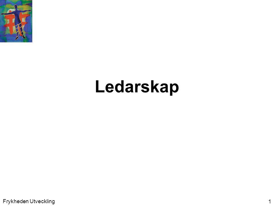 Ledarskap <ipf>R</ipf> Frykheden Utveckling
